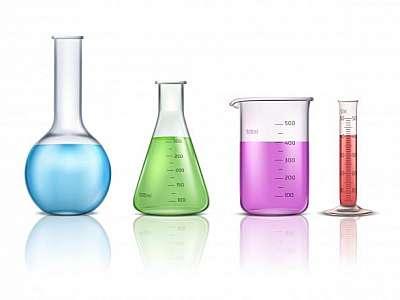 Kit vidrarias de laboratório