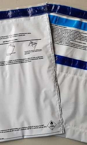 Envelope para amostra testemunha anp