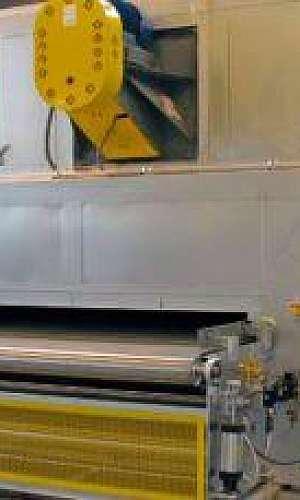 Estufa para pintura industrial