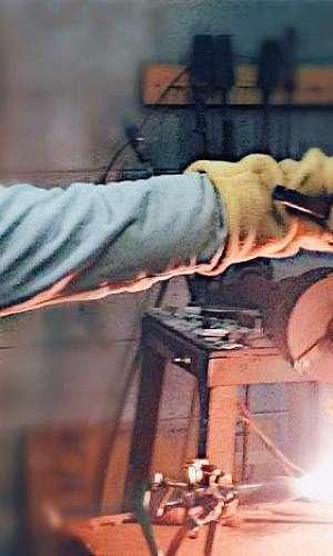 Fábrica de vidraria para laboratório