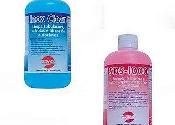 Detergente para limpeza de autoclave