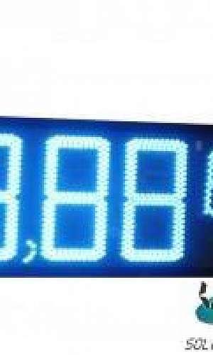 Painel indicador de preços