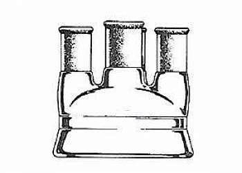 Reator de laboratório de vidro