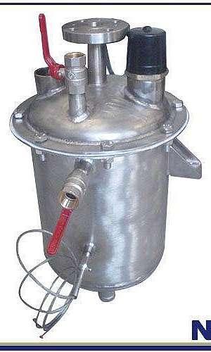 Reatores de titânio