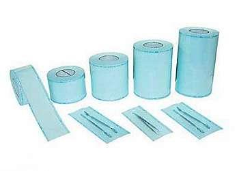 Rolo de papel para autoclave